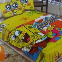 "selimut bulu sponge bob smile ""BLOSSOM"""
