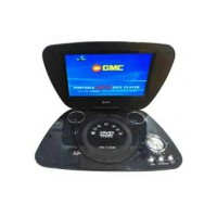 "DVD GMC PORTABLE + TV 9"" DIVX-808U"