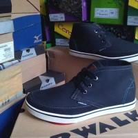 AIRWALK FINN Black - Sepatu Casual Sneakers Boot