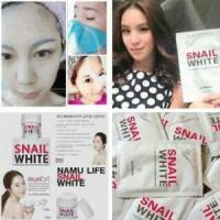SNAIL WHITE MASK - MASKER SNAIL WHITE