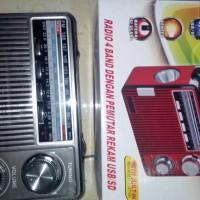 Radio Am Fm Sw Mp3 Player + SenterFleco F 9925UAR