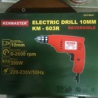 MESIN BOR KENMASTER / BOR LISTRIK KENMASTER / DRILL KM-603 R