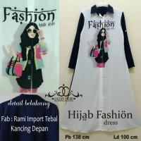 hijab street dress / hijrah dress / hijab fashion dres