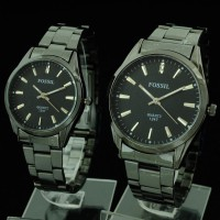 Jam Tangan Couple Fossil CR430 (Swiss Army Alba Seiko Gc Cartier)