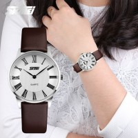 JAM TANGAN WANITA ORIGINAL ANTI AIR - CASUAL MODEL SKMEI SUPER TIPIS