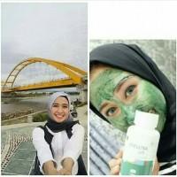 Masker Lumpur Spirulina Tiens Paket 100kapsul Murah