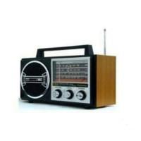 Radio Panasonic RL-4249MKIII 4 Band model jadul-desain kayu unik.