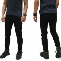 Jual Celana pria jeans denim hitam import keren ori Murah