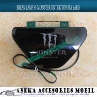 Break Lamp / Stop Lamp / Lampu Rem F1 Monster Mobil Toyota Yaris