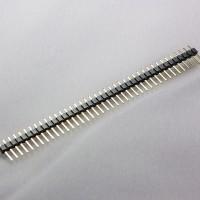 Jual Pin Header 2.54mm Male 40 Pin Single Row Strip Silver Connector Murah