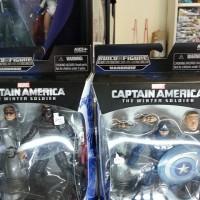 Winter Soldier & Captain America Civil War Marvel Legends Hasbro Bucky