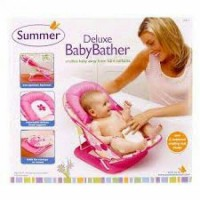 Deluxe Baby Bather Pink Summer