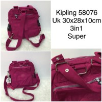 TAS WANITA KIPLING 58076 - SUPER (SELEMPANG - HANDBAG - RANSEL)