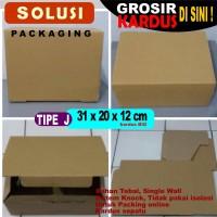 BOX KARDUS/ KARDUS PACKING / KARDUS SEPATU / DUS J 31x20x12