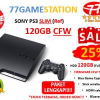 (PS3) SONY PLAYSTATION 3 CFW (REF) + 120GB (LENGKAP & TERMURAH)