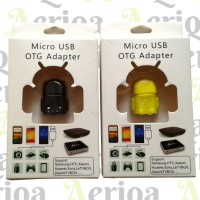 Adapter Micro USB OTG (On-The-Go) - Android Robot Model Adaptor