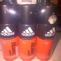 adidas deep energy deo body spray 150ml (deododant spray)
