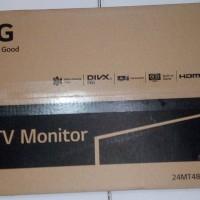 tv led + monitor lg 24 inch 24MT48AF