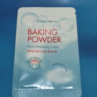 Baking Powder Pore Cleansing Foam Sample Etude House