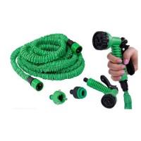 Selang air magic hose 15 meter pakai baut hijau/biru