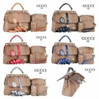 Gucci Sorella Canvas 2Face 4in1 (3319)