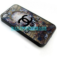 Chanel Paris 2D Case Custom Casing iPhone 4/4s