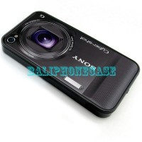 Camera Sony Cybershot 2D Case Custom Casing iPhone 4/4s