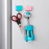 Jual Gantungan dengan Magnet (Magnetic Hook Hanger Holder)