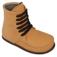 Sepatu Boots Anak Tan- Sepatu Cowok