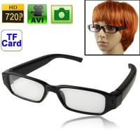 HD 720P Spy Camera Glasses Hidden Eyewear DVR Video Recorder Cam