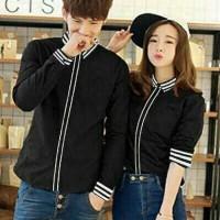 CP Line Black | Baju Couple Bagus Murah