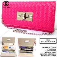 Dompet Wanita Kulit Dcl 16 Key Botega Kunci Pink