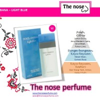 Dolce Gabbana Light Blue / The Nose Perfume / Parfum Wanita