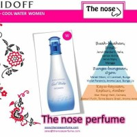 Davidoff Cool Water Woman / The Nose Perfume / Parfum Wanita