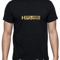 Kaos Pria Hardwell GOLD by CLOTHSERTO