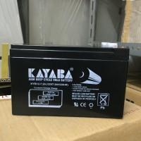 Aki Kering VRLA / Battery UPS Kayaba 12V 7.2Ah Murah
