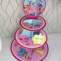 cupcake stand little pony / cupcake tier my little pony cilukba party