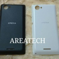 Backcover, Backdoor, Casing Belakang Sony Xperia L C2105
