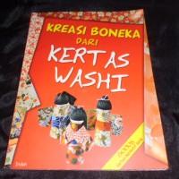 harga kreasi boneka dari kertas washi Tokopedia.com