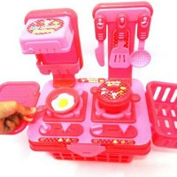 mainan masak masakan anak kitcen set