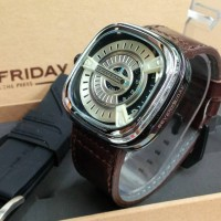 Jam Tangan Pria / Cowo SevenfridayCoklat