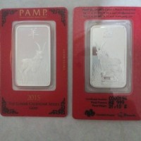 harga Pamp Silver Bar Lunar Goat 2015 1oz 31.1gram Perak Batang Tokopedia.com