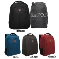 Real Polo Tas Ransel / Backpack 5836 [Gratis Bag Cover]