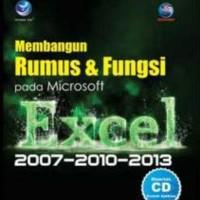 Membangun Rumus Dan Fungsi Pada Microsoft Excel 2007-2010-2013 + CD