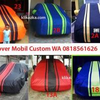 sarung cover selimut mobil mobillio, grand livina, kijang custom