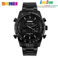 SKMEI Multifunctional Fashion Watch Water Resistant - 1131 - Black