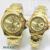 ROLEX COUPLE R028 FULL GOLD