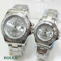 ROLEX COUPLE R028 SILVER WHITE