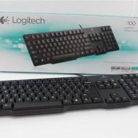 Logitech K 100 Classic Keyboard PS2 Garansi Resmi