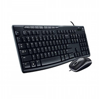 Logitech Combo Media Keyboard Mouse MK200